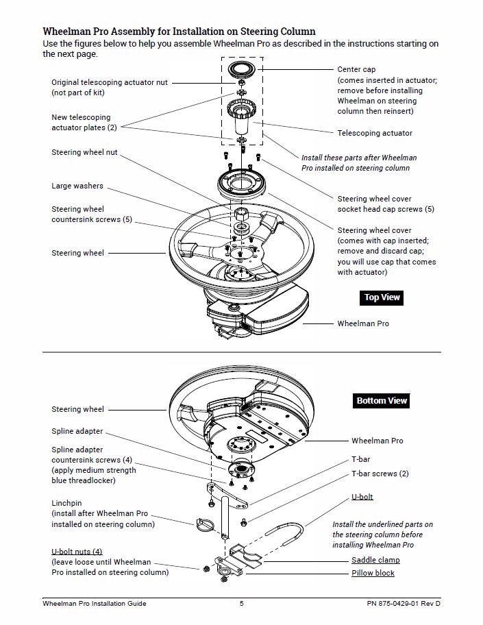 Wheelman Pro Installation Guide Fit Kit: New Holland 8670