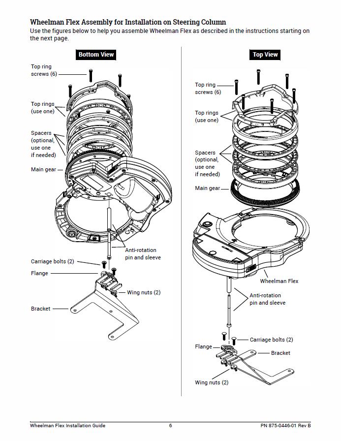 Wheelman Flex Installation Guide Fit Kit: Case IH Maxxum