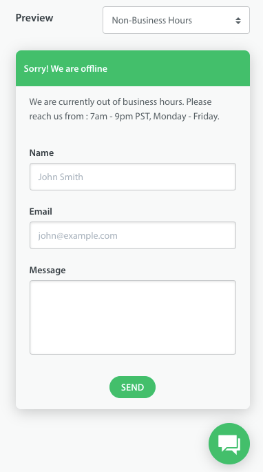 How Do I Set Up Business Hours For Web Chat Helpshift Knowledge Base Helpshift Knowledge Base