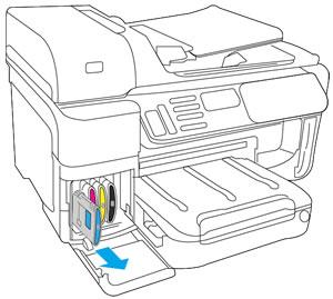 Drucker der Serien HP Officejet Pro 8500 All-in-One (A909