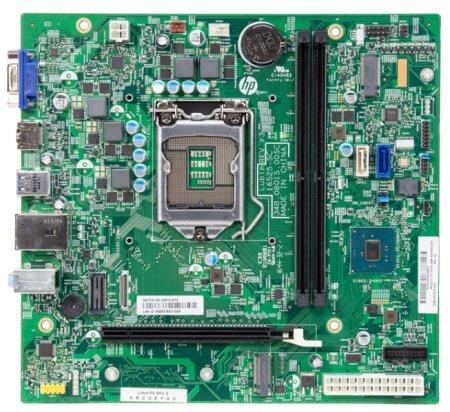 Lubin motherboard top view