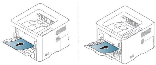 Samsung ProXpress SL-M4020: Cargar el papel en la bandeja
