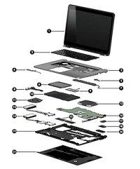 Hp Pavilion Desktop Wiring Diagram HP Pavilion Parts ...