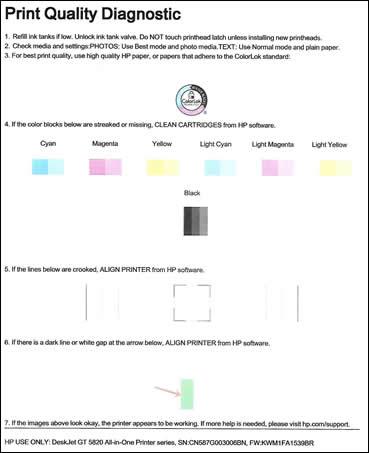 Driver Hp Deskjet Gt 5810 : driver, deskjet, DeskJet, 5810,, Printers, Color, Black, Printing;, Other, Print, Quality, Issues, Customer, Support