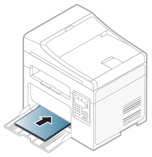 Impresora láser MFP de Samsung SCX-340x: Cargar el papel