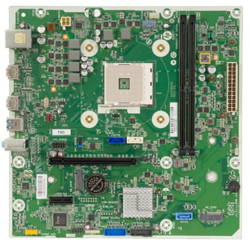 Basswood motherboard top view
