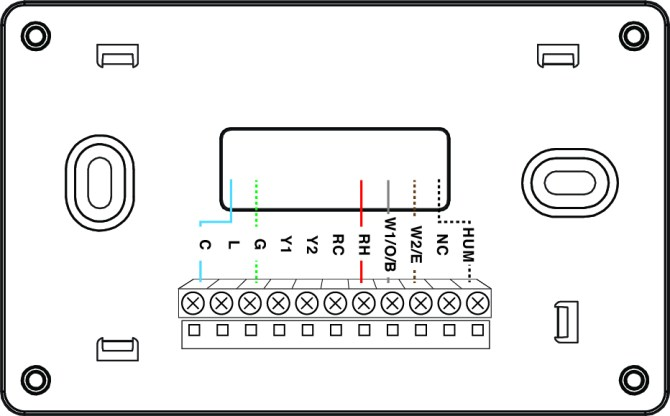 thermostat wiring configurations – customer support