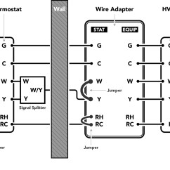 White Rodgers Thermostat Wiring Diagrams Yamaha R1 Diagram Installing The Wire Adapter  Idevices Customer