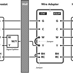 installing the thermostat wire adapter customer support wire ac thermostat wiring diagram [ 1350 x 1201 Pixel ]
