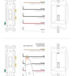 installing dimmer switch 3 and 4 way customer support on 5 wire wire switch wiring  [ 1000 x 1300 Pixel ]