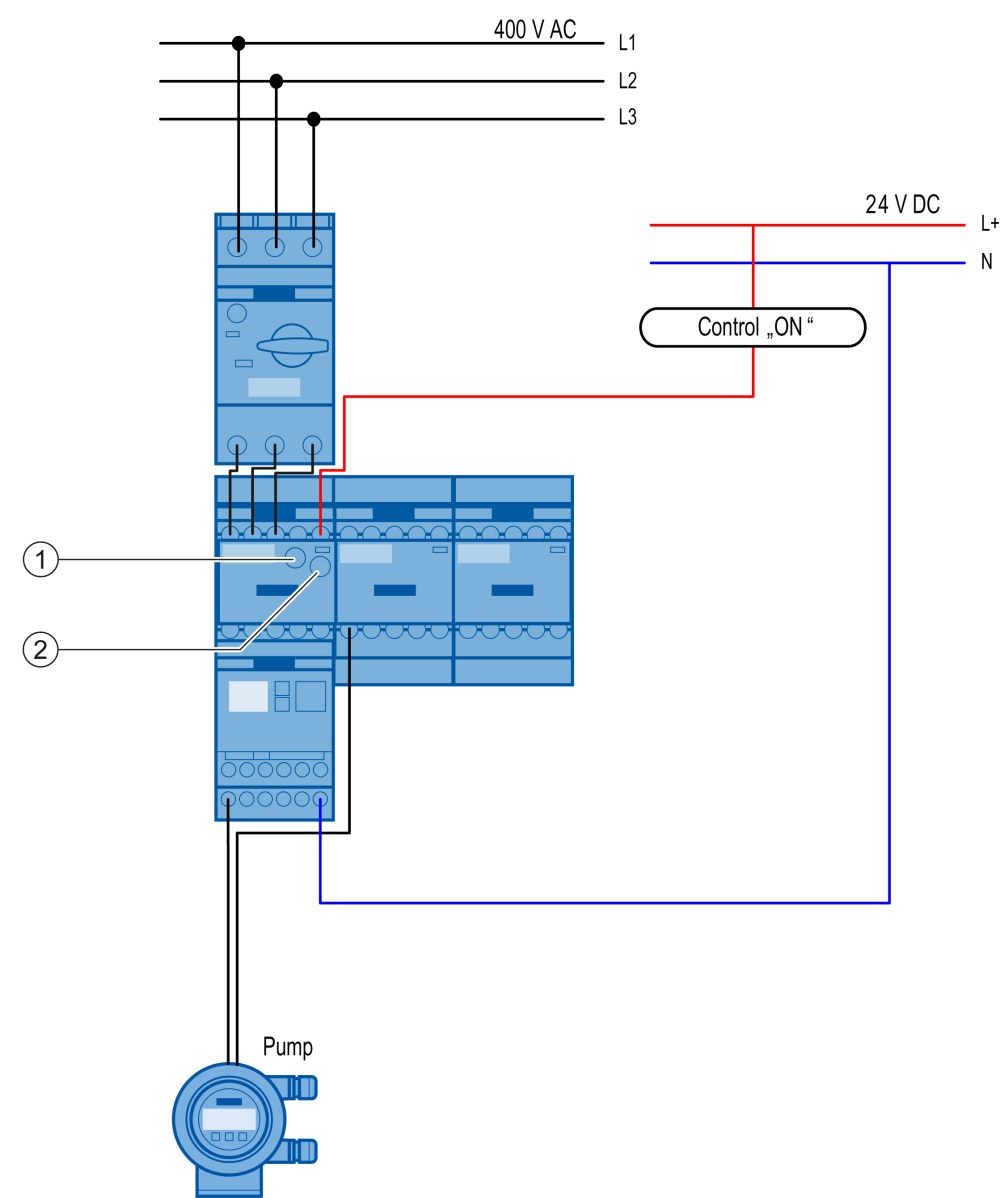 medium resolution of a star delta wye delta combination is required for the pump the star delta wye delta combination is fully wired and mechanically connected