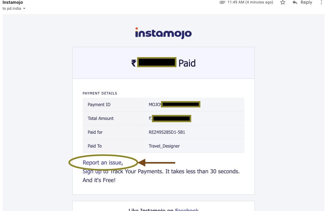 create a refund case