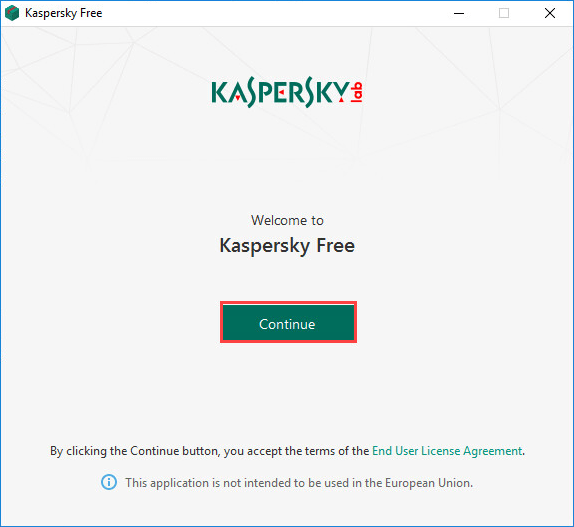 How to install Kaspersky Free