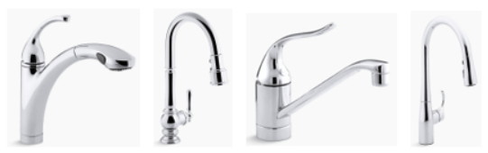kitchen faucet low flow from hot and