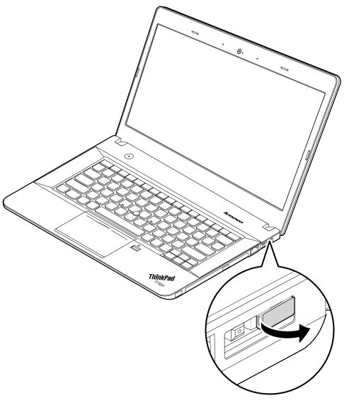Lenovo OneLink connector cover removal and installation