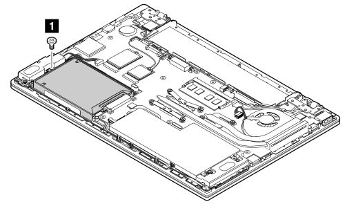 Hard disk drive or solid-state drive removal and