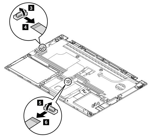 Keyboard plate, DC-in cable assembly, keyboard, and