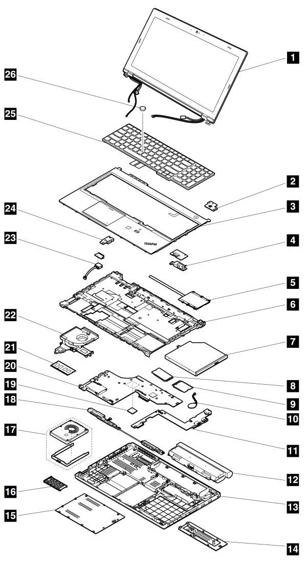 lenovo t410 diagram