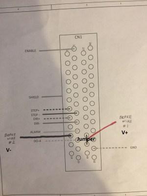 Brake Wiring Diagram | MachMotion