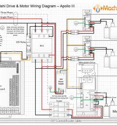 mitsubishi drive motor wiring diagram apollo iii [ 1041 x 803 Pixel ]