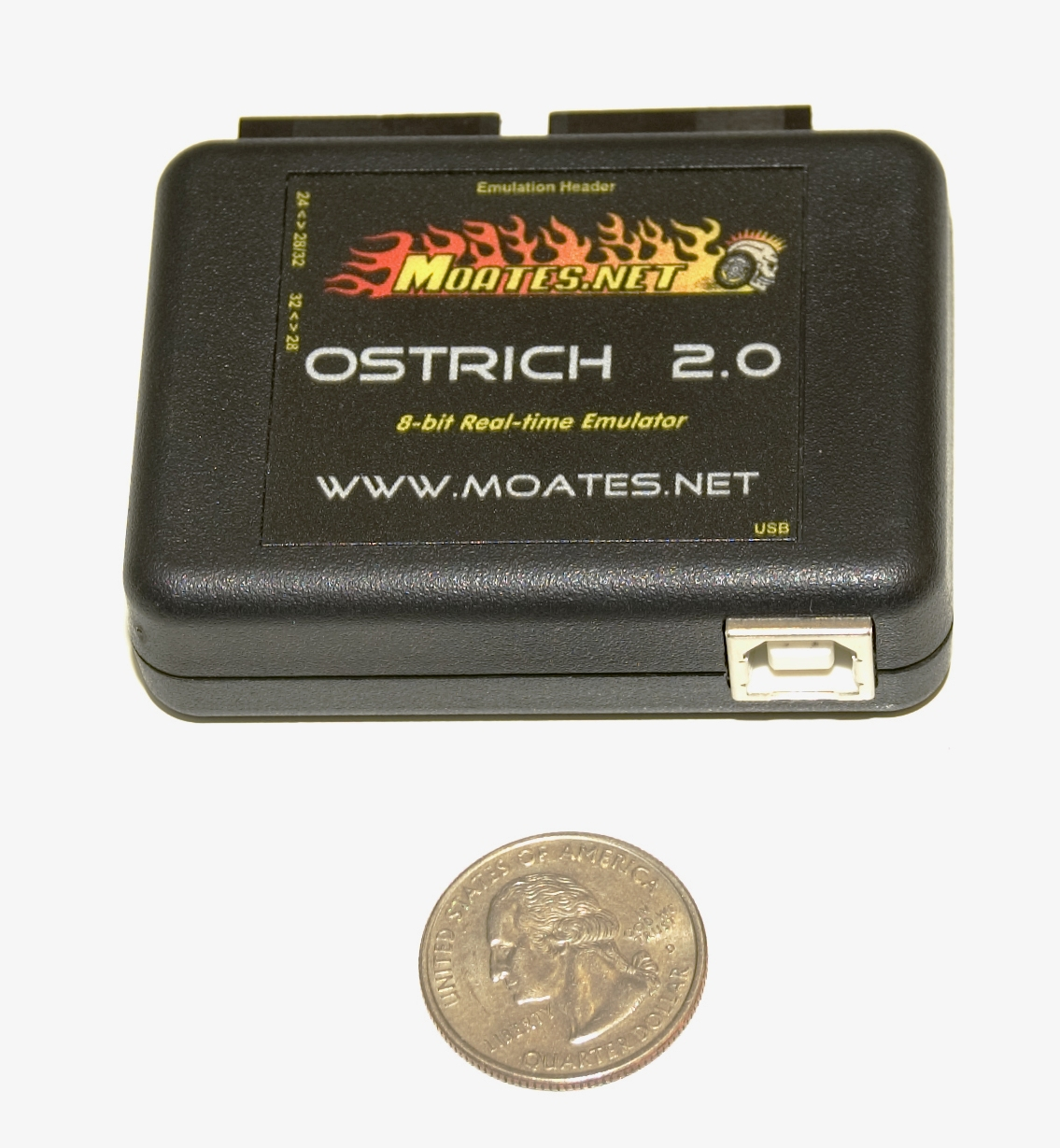 hight resolution of ostrich 28pin 27c512 chip end
