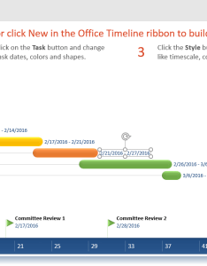 Timeline date format in either the milestone or task group select your desired options and office will automatically apply changes also how to make timelines gantt charts hours minutes  rh support officetimeline