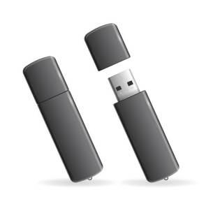 USB Flash Drive. Vector