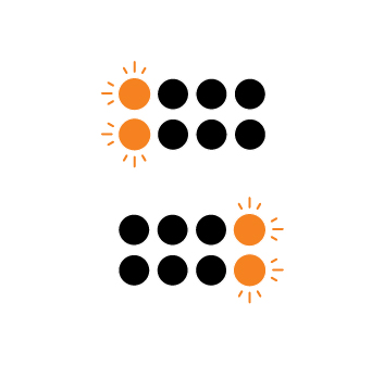 OneStep 2 and OneStep+ LED patterns (and what they mean