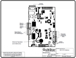QS 910 Keypad Diagram – QuikStor Support Knowledgebase