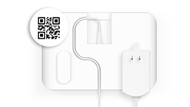 Why does this device have a QR Code?