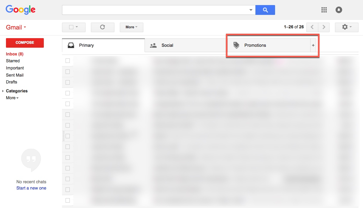 How do I keep my email out of Gmail's Promotion folder? | Robly Support