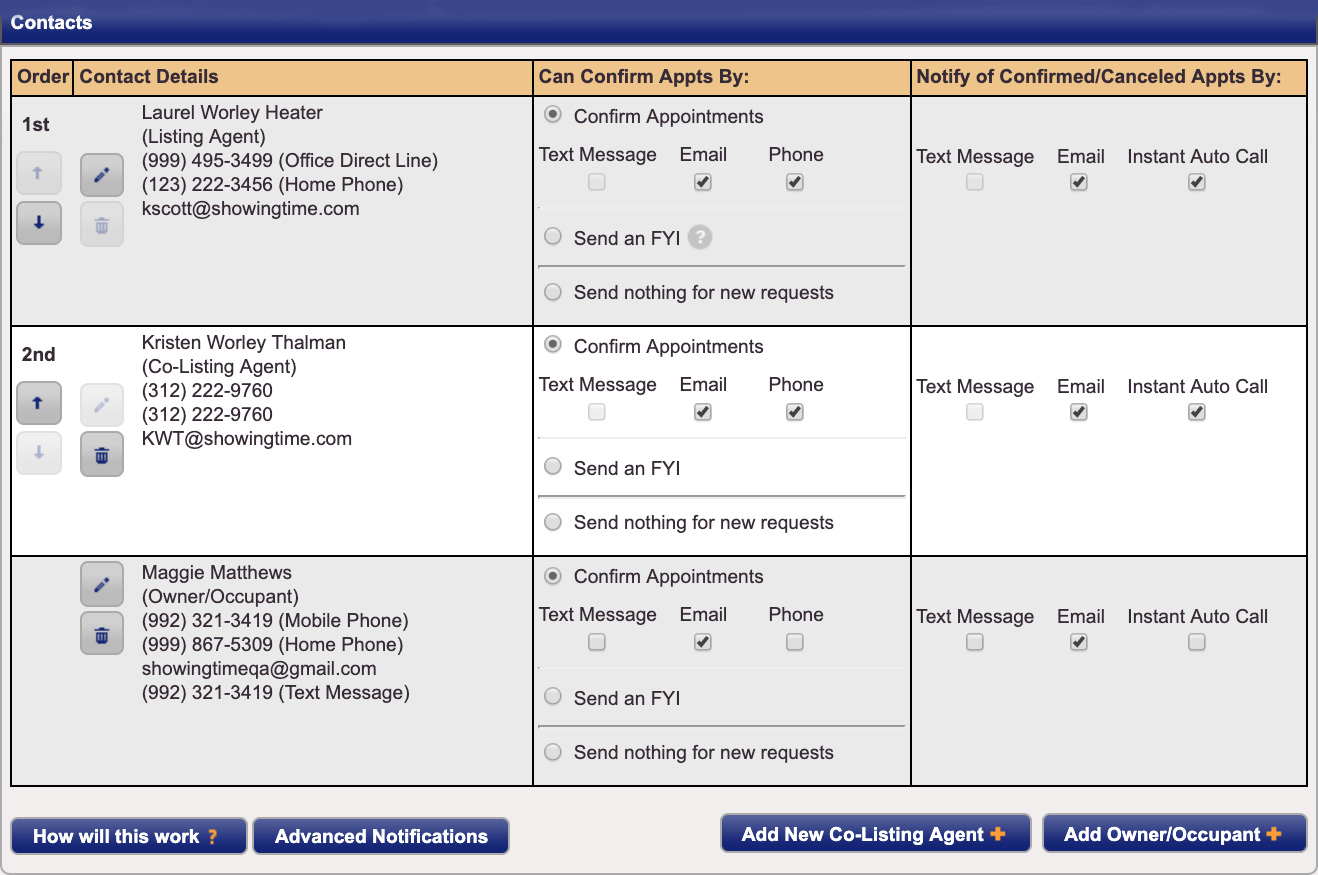 Listing Worksheet Layout Showingtime For The Mls Help