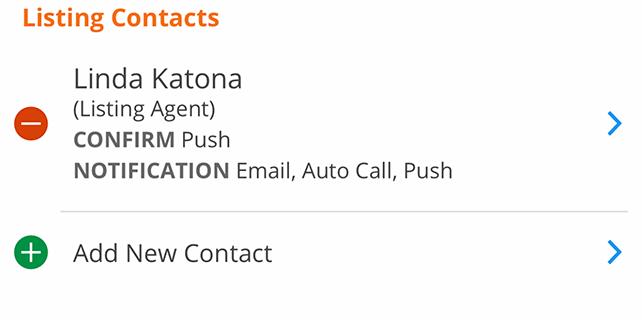 Mobile Listing Worksheet Showingtime Appointment Center
