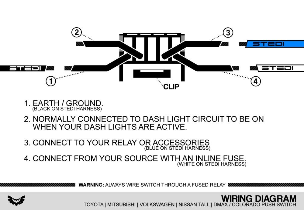 medium resolution of how to wire up spotlights to high beam wiring library2019 new diagram toyota white jpg isuzu dmax u0026 holden