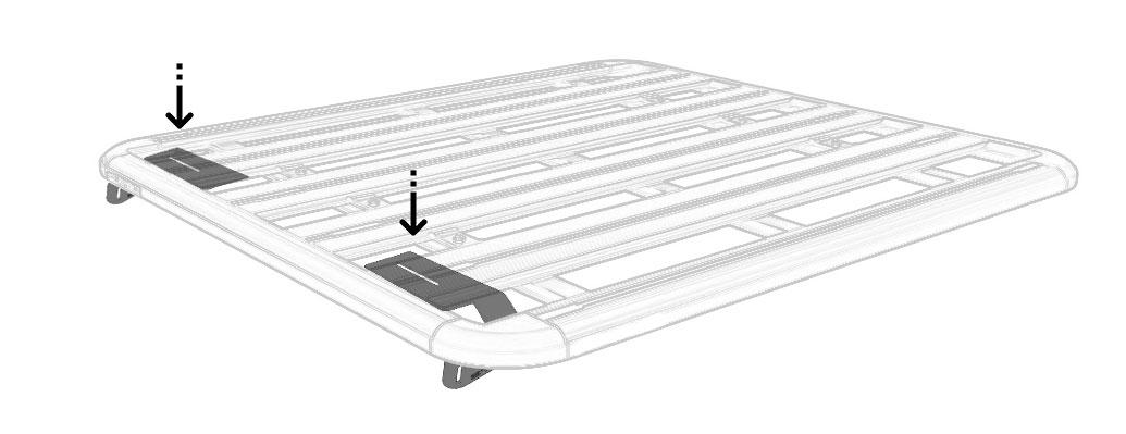 STEDI Rhino Rack Light bar mounting bracket Installation