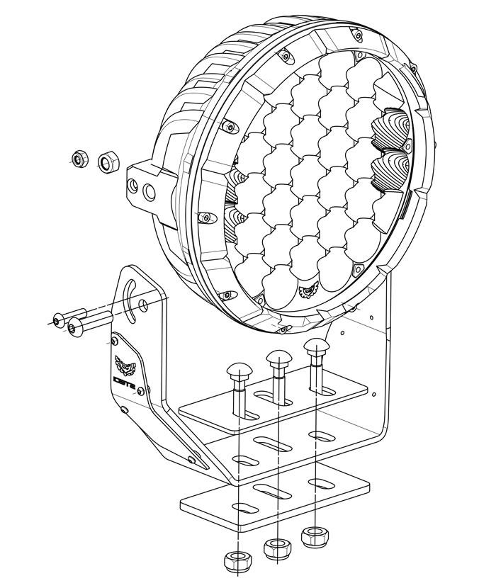 Type X Sport LED Driving Lights