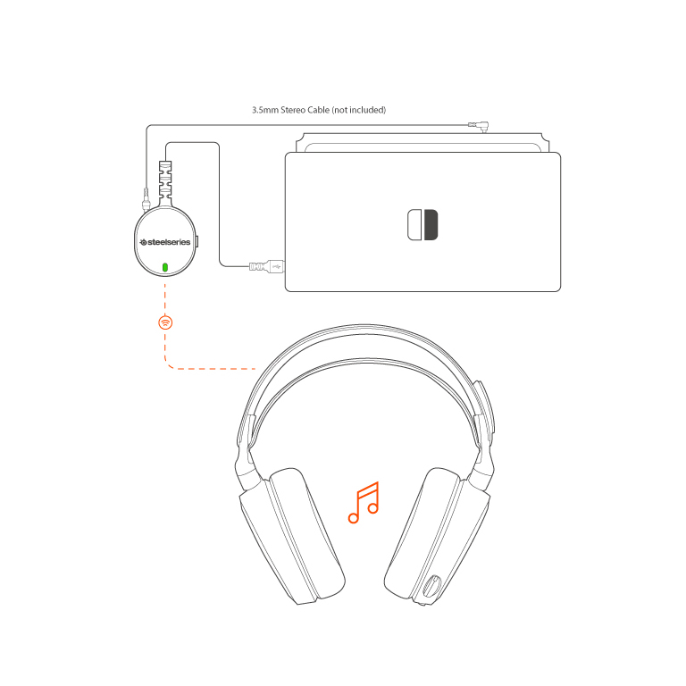 Why isn't my wireless headset working with Nintendo Switch? – Support