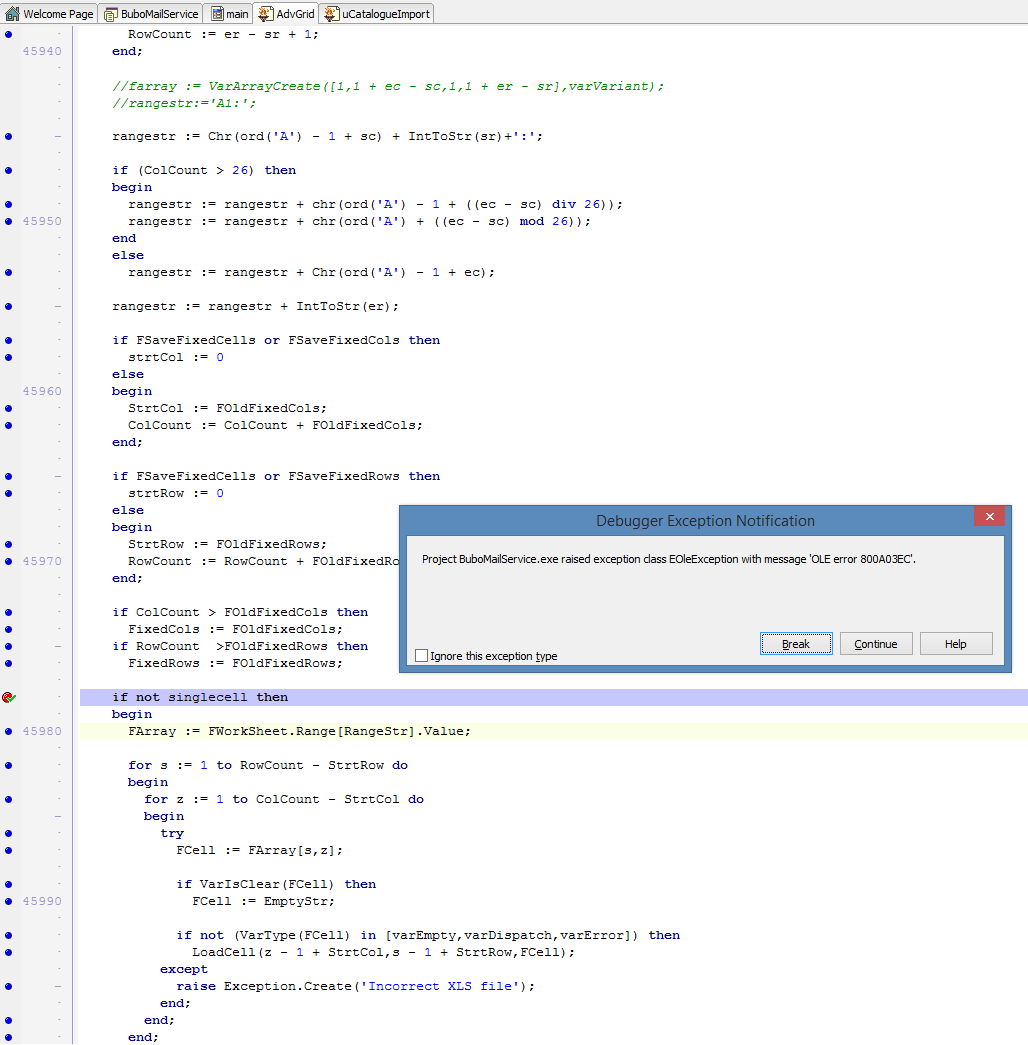 Loadfromxlssheet Fails To Load An Excel Document
