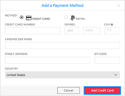 adding a new credit