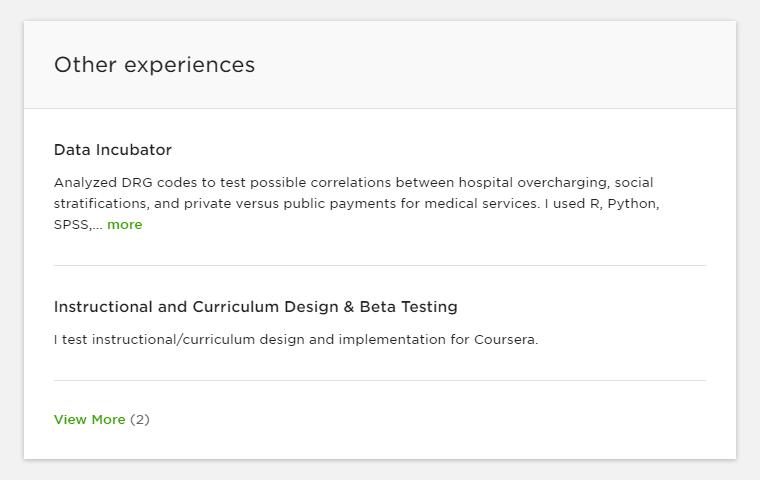 Resume Samples For Freelancers