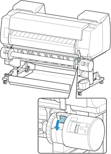 Canon:imagePROGRAF Manuals:PRO-540:Using the Roll Unit In