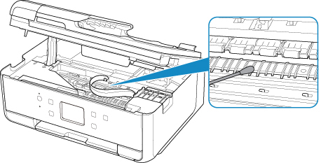Canon : PIXMA Manuals : TR7500 series : Cleaning Inside