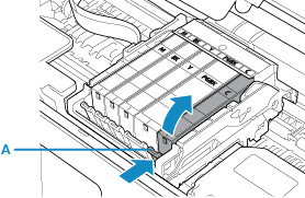 Canon : PIXMA Manuals : TR8500 series : Replacing Ink Tanks