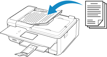 Canon : PIXMA Manuals : TR8500 series : Where to Load