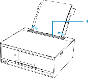 Canon : PIXMA Manuals : TS9100 series : Loading Paper in