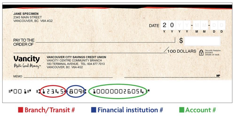 medium resolution of sample void cheque
