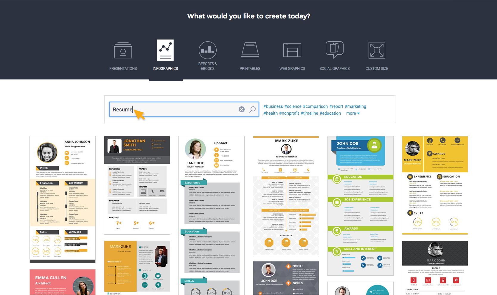How To Make A Resume Website How To Create A Resume Create Interactive Online Presentations