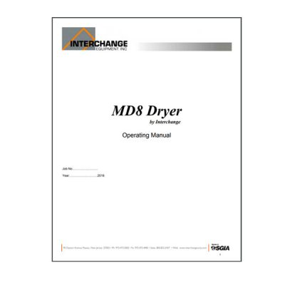 Conveyor Dryers Owners Manuals