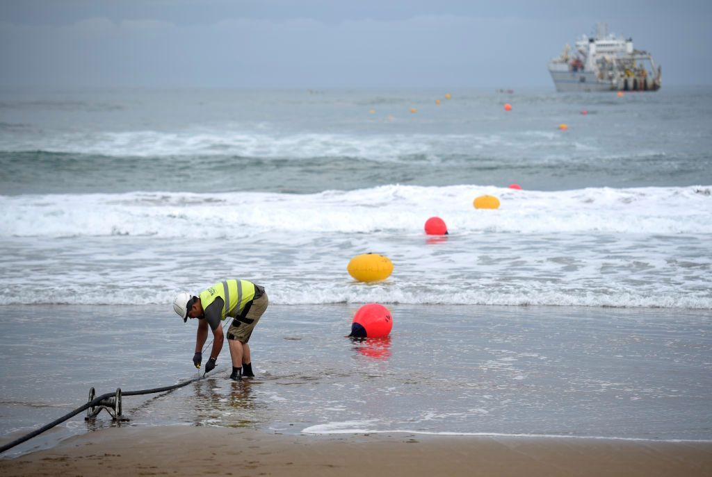 Google's 10,000 KM Marine Fiber Optic Cables Helping to Detect Seismic Earthquake Activity