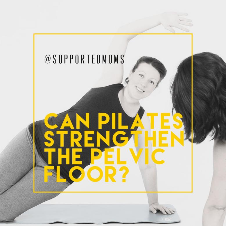 can pilates strengthen the pelvic floor